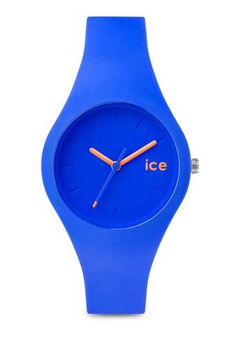 Ice Ola 矽膠圓錶, 錶esprit tw類, 淑女錶