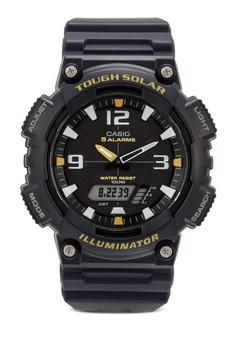 AQ-S810W-2AVDF 數字顯示樹脂手錶