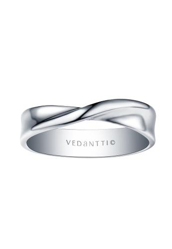 Vedantti 白色 Vedantti 18K 永遠摯愛系列-白金戒指 A3178AC2546AA3GS_1