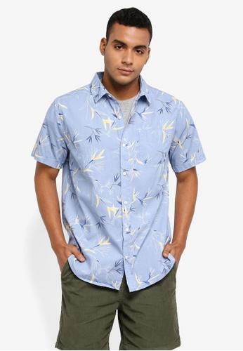 Cotton On blue Vintage Prep Short Sleeve Shirt 6076BAA9C7B22AGS_1