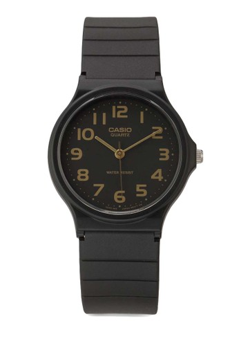 Casio black Casio Jam Tangan - Black - Resin - MQ-24-1B2LDF 457AAAC483DF33GS_1