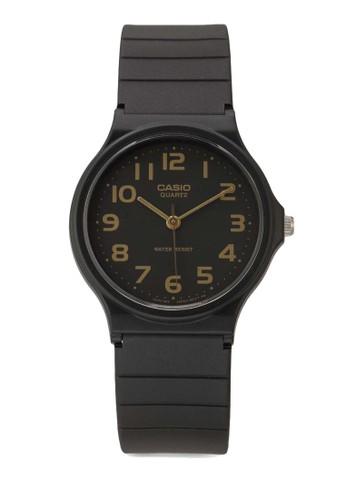 Casio black Casio Jam Tangan - Black - Resin - MQ-24-1B2LDF  457AAAC483DF33GS_1