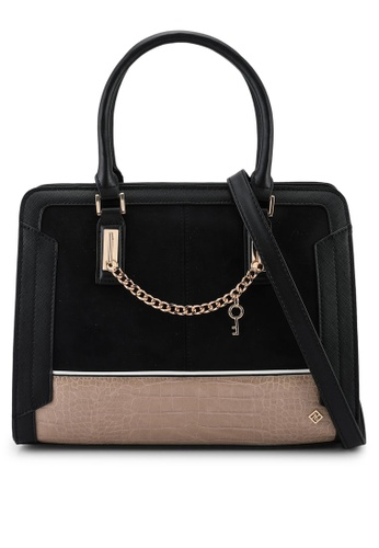 Call It Spring black Gwieria Top-Handle Bag D487BAC74ADF40GS_1