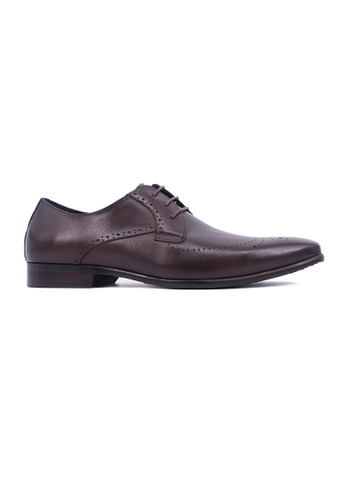 Hanson Bootmaker brown Hanson Bootmaker Laceup Oxford- Brown 1FAC8SH9C20E22GS_1