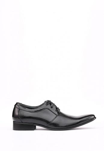 Kings Collection black Bianco Plain Toe Derby 7337FSH7CA1FEDGS_1