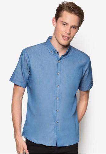 簡約短袖襯衫、 服飾、 襯衫ZALORA簡約短袖襯衫最新折價