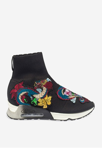 ASH black Legend - Black Embroidered Patch Sneakers F6312SHC12FF70GS_1
