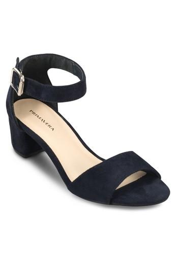Besprit 工作loclo 粗跟中高跟涼鞋, 女鞋, 鞋