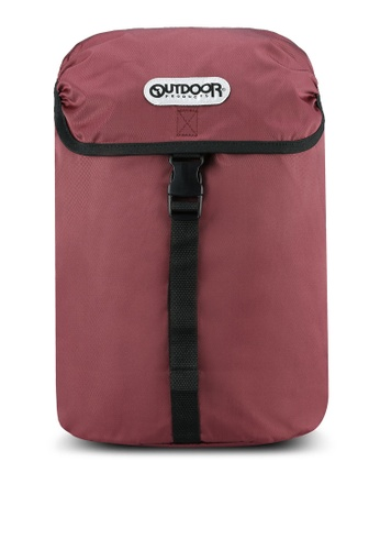 Outdoor Products pink Flap Backpack OU509AC0S5ESMY_1