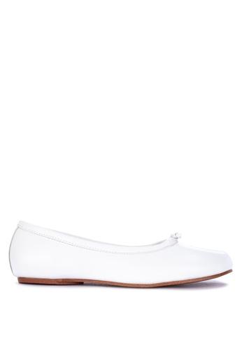Primadonna white Ballet Flats 7A8ACSH587FEC1GS_1