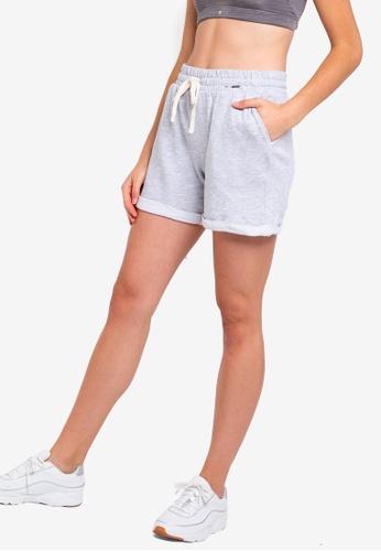Cotton On Body grey Lifestyle Fleece Shorts D6FC5AAC6131CFGS_1