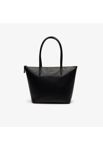 3b270e1815a Buy Lacoste Women's L.12.12 Small Leather Zip Tote Bag-NF2753IR Online on  ZALORA Singapore