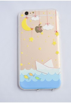 Boat and Stars Soft Transparent Case for iPhone 6