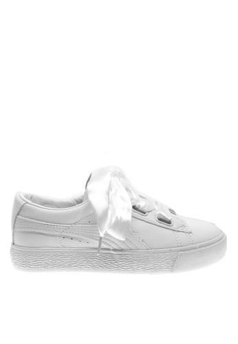 Twenty Eight Shoes 白色 白色絲帶厚底波鞋 6892-1 TW446SH81QECHK_1