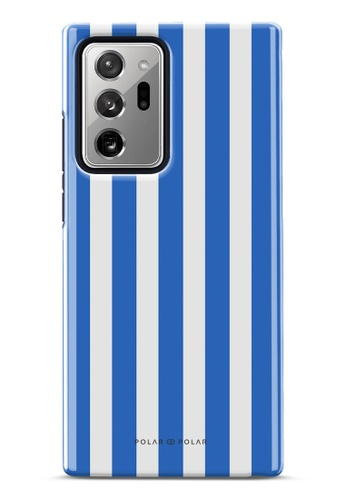 Polar Polar blue Blue Stripe Dual-Layer Tough Case Glossy For Samsung Galaxy Note20 Ultra 5G 8467BAC97EE99EGS_1