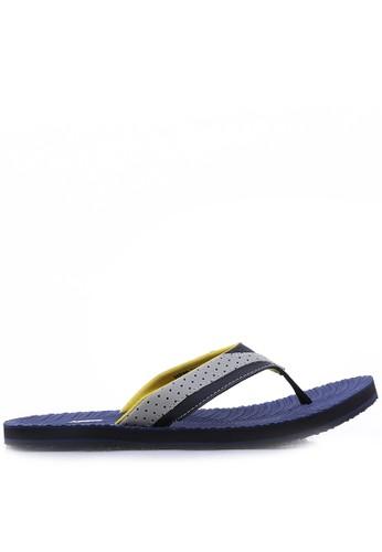 HRCN blue HRCN Blue Wave Sandals HR759SH45ZXMID_1