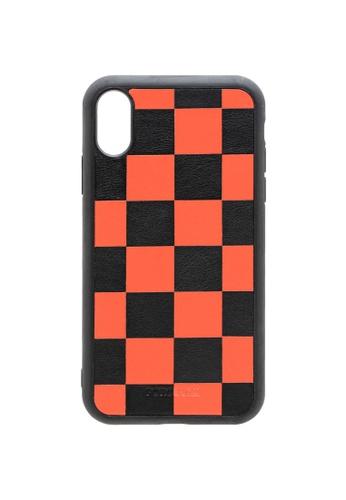 POROLUXE orange PHONE CASE FOR IPHONE X E7433AC2BDFCB9GS_1