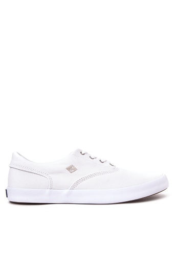 Sperry white Wahoo Cvo Saturated Sneakers SP132SH15QYYPH_1