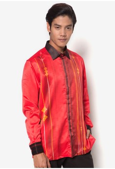 Long Sleeve Batik Shirt