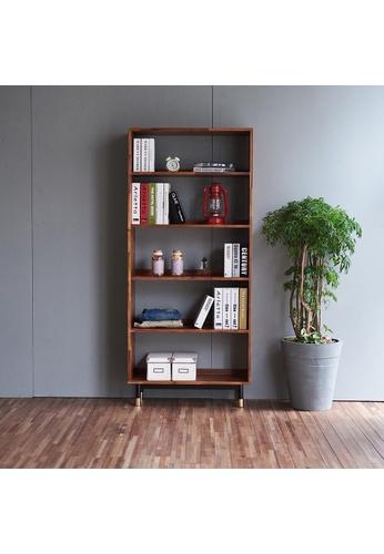 Born In Colour Dwell Acacia Bookcase Display Shelf B228EHL1EBDDF7GS_1