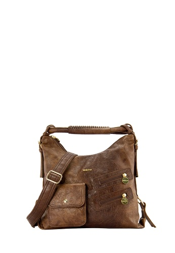 SEMBONIA brown SEMBONIA Synthetic Leather Tote Bag C0BC2AC68D56C4GS_1