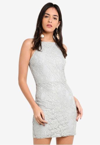 5e53093219ac Shop MISSGUIDED Lace Square Neck Bodycon Dress Online on ZALORA Philippines