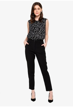 7ca60677d0b 50% OFF FORCAST Saylor Crop Notched Pants S  78.90 NOW S  39.45 Available in  several sizes