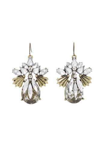 Jaysa Collection gold Majestic Crystal Jewels Earrings JA875AC0GYC9SG_1