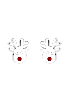 耳環 Rudolph Reindeer 925 Sterling 銀