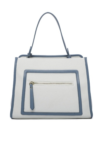 Milliot & Co. blue Setlla Tote Bag 57403AC5A858E8GS_1