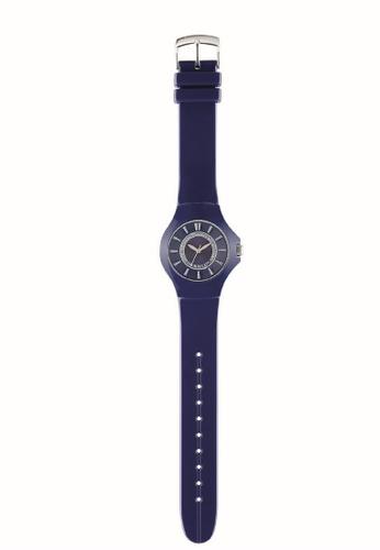 Morellato blue Colours Quartz Watch R0151114540 Dark Blue Rubber Strap 24E65AC961553CGS_1