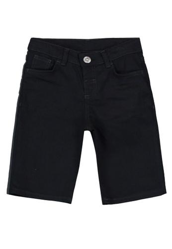 LC Waikiki black Boy Jeans Roller shorts 03D5CKAAA7BBFAGS_1