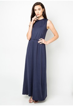 Roundneck Maxi Dress