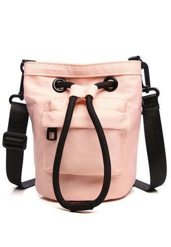 Milliot & Co. pink Riva Sling Bag AD9DBACB19DC20GS_1