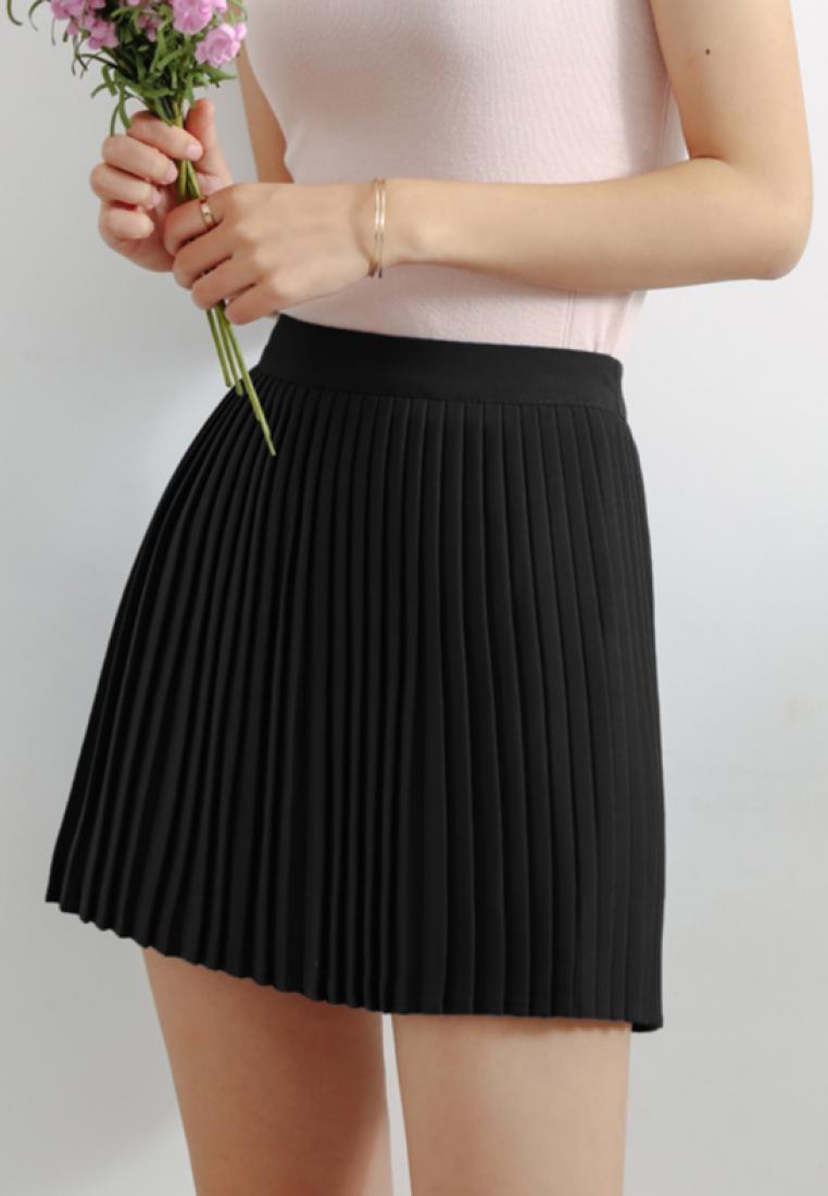 Skirt Shopsfashion Pleated in Mini Black Black HH0SOqx