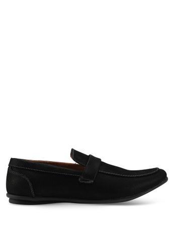 Rocklander black Rocklander Loafer Shoes 8E6D0SH1BFBF65GS_1