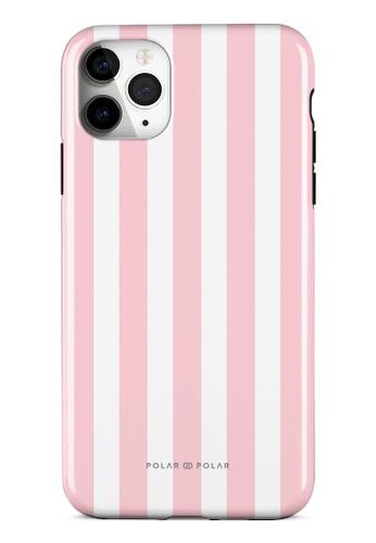 Polar Polar pink Baby Pink Stripe Dual-Layer Tough Case Glossy For iPhone 11 Pro Max 1D6EBAC2FD35E7GS_1