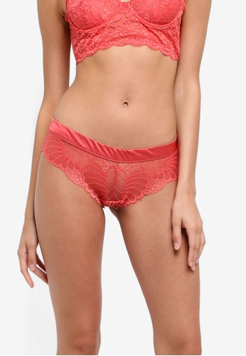 Cotton On Body orange Pretty Poppy Brasiliano Briefs FD590US6A0A590GS_1