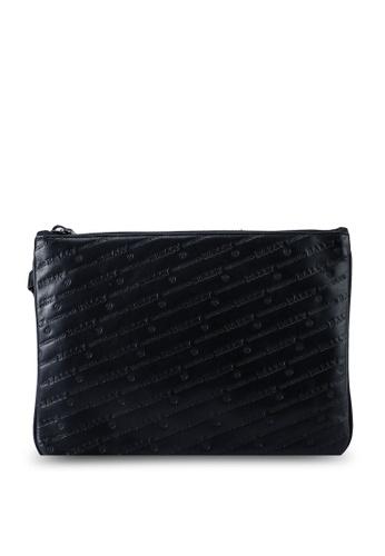 Bally black Bex Pouch Holder (oc) 43C2BACFCB8764GS_1