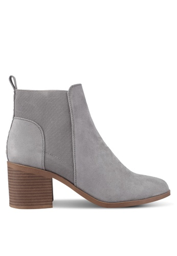 Dorothy Perkins grey Grey Montana Ankle Boots DO816SH0T069MY_1