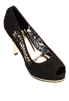 Madrid Lace Pumps