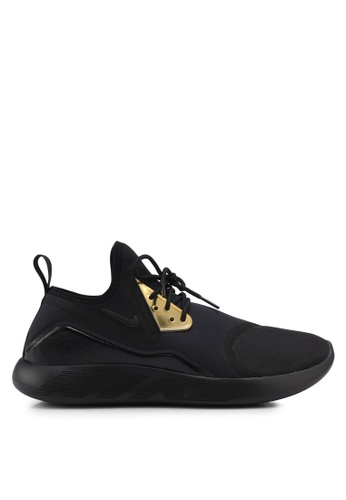 Nike black and gold Men's Nike Lunar Charge Essential Shoes NI126SH0STRRMY_1