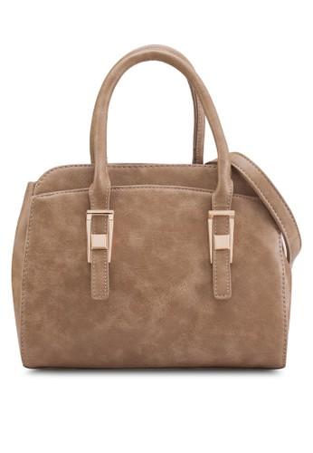 金飾仿皮手提包esprit taiwan, 包, 手提包
