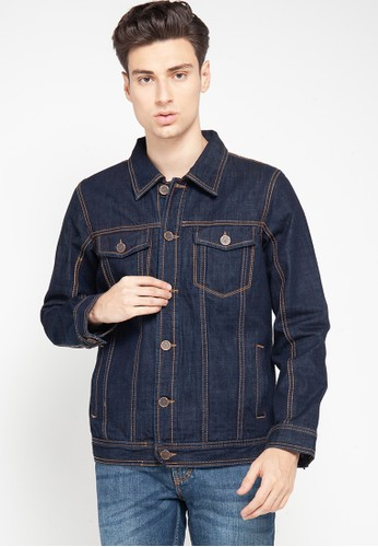 Cardinal navy Jacket Denim 92420AADEDA287GS_1