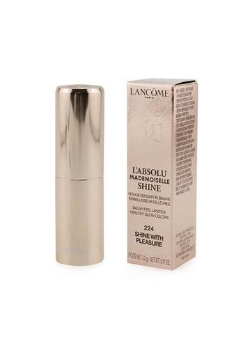 Lancome LANCOME - L'Absolu Mademoiselle Shine Balmy Feel Lipstick - # 224 Shine With Pleasure 3.2g/0.11oz F14B4BEE6457ADGS_1