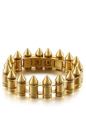 HAPPY FRIDAYS Bullet Titanium Steel Bracelet KL149758 DB92BACC5C4950GS_1