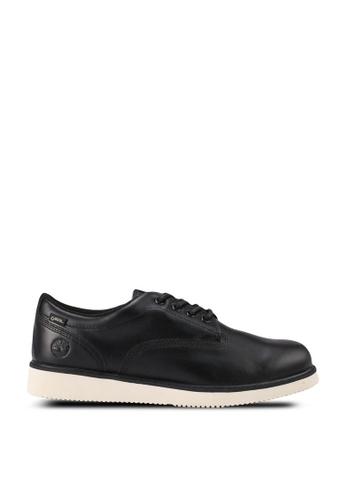 Timberland black Premium Vibram Oxford Shoes B45EESHCC980B1GS_1