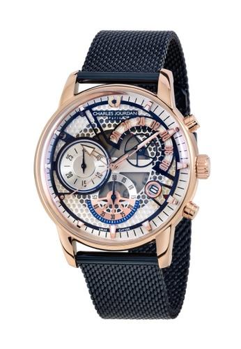 Charles Jourdan gold Charles Jourdan Men Watch Chronograph CJ1100-1512C E8913ACC9A1E0BGS_1