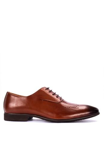 Mendrez brown Joe Formal Shoes 10D49SH35FA43DGS_1