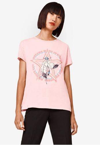 ESPRIT pink Short Sleeve T-Shirt 68A87AA8E66FAEGS_1